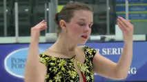 Cailey England - Senior Women Short - 2016 Skate Canada BC/YK Sectional Championships
