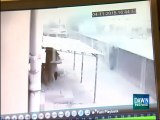 CCTV footage of Lahore factory collapse