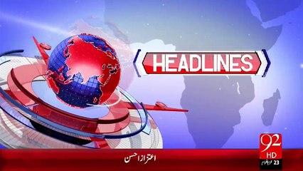 Headlines - 09:00 PM – 05 Nov 15 - 92 News HD