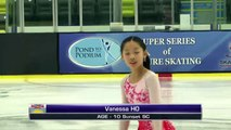 Vanessa HO - 2016 Skate Canada BC/YK Sectional Championships