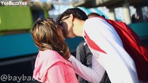 Best Kissing Prank | How to Kiss Hot Girls | Twerking + Kisses