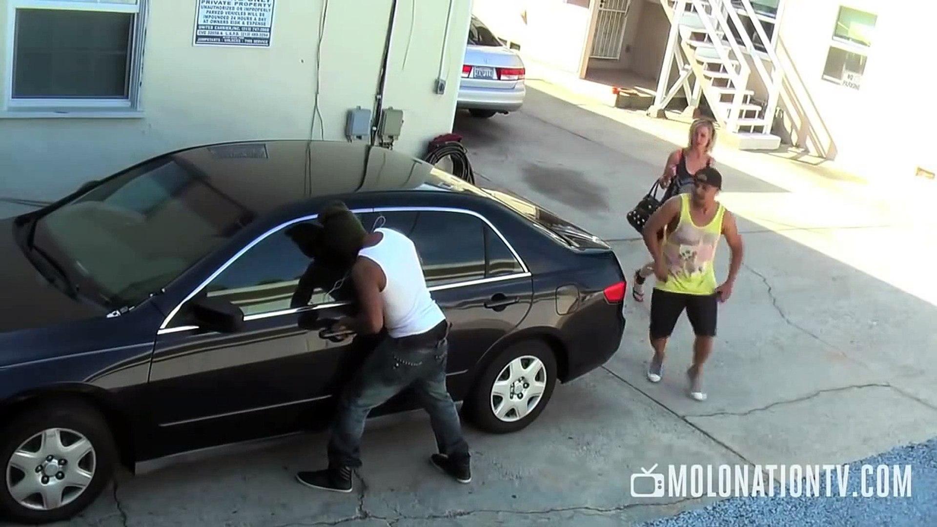 Robbery Prank Gone Wrong Stealing Prank PRANKS GONE WRONG Car Prank Pranks 2014
