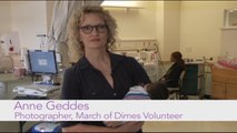 Anne Geddes supports March of Dimes