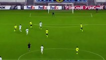 Georges-Kevin N'Koudou Goal - Marseille 1 - 0 Braga - 05/11/2015