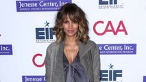 Halle Berry Attends Benefit Dinner
