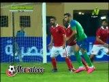 هدف المقاصة الأول ( الأهلي 0-1 مصر المقاصة ) الدورى المصرى الممتاز