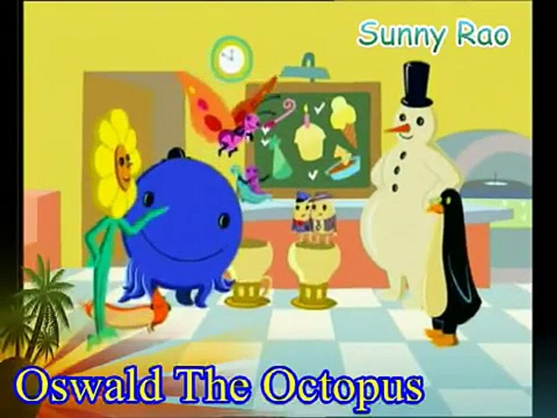 Outstanding Oswald The Octopus Catrina Birthday Cake Video Dailymotion Funny Birthday Cards Online Inifodamsfinfo