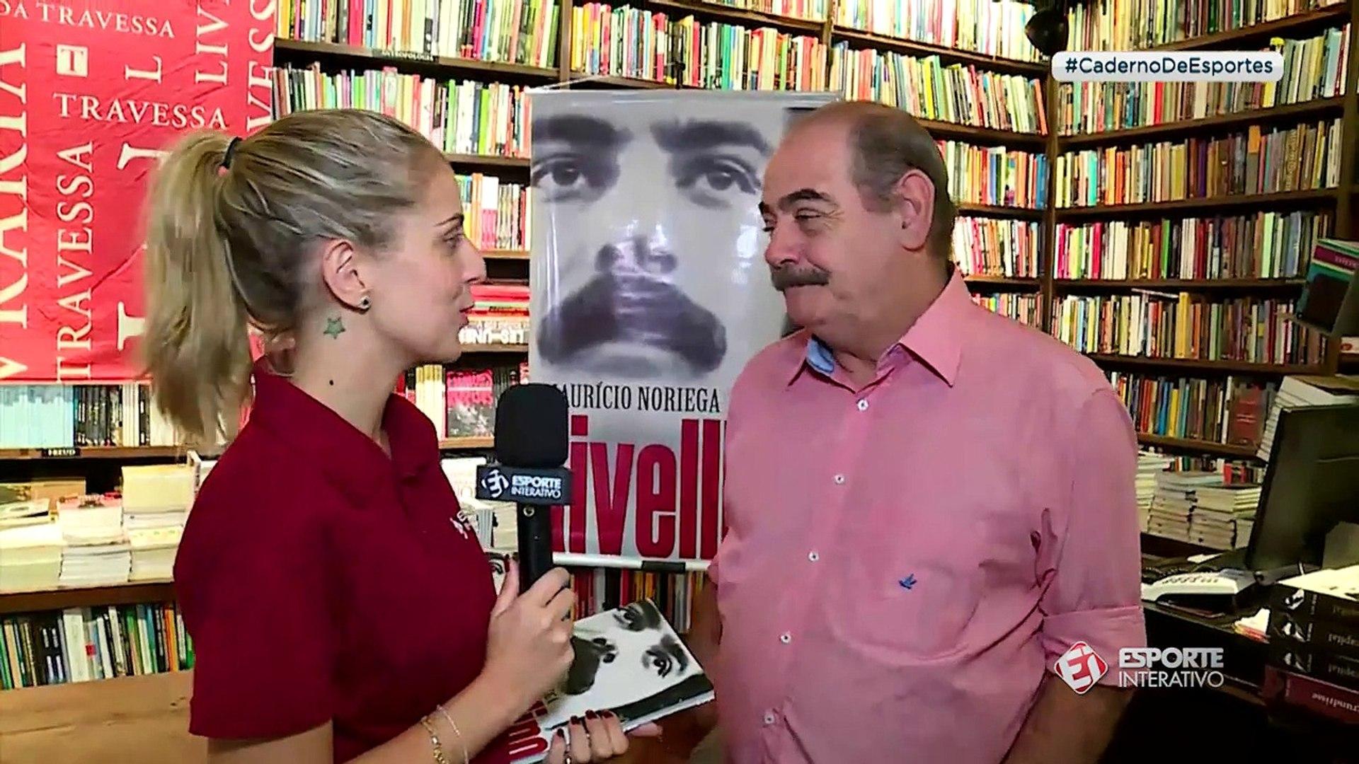 Caderno de Esportes: Monique Danello acompanha lançamento de livro sobre Rivellino