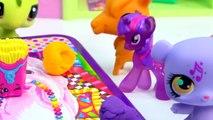 MLP Twilight Sparkles Playdoh Art Class - My Little Pony LPS Students Shopkins Season 3 V