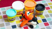Planes PlayDoh How to make Dusty Crophopper from Disneys Planes Fire and Rescue