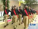 Police passing out parade at Punjab prison staff training institute Ferozpur