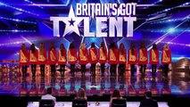 Irish dancers surprise judges with their modern twist on Britains Got Talent