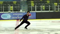 Liam Firus - Senior Men Short - 2016 Skate Canada BC/YK Sectional Championships