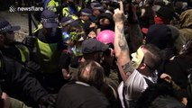 Million Mask March: Footage of violence and scuffles between police and protesters