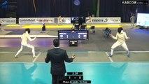 CdM fleuret dames St-Maur 2015 - poules > T64 préliminaire piste verte (6/11/2015)