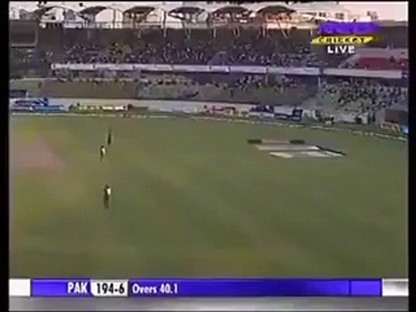 Most funniest Dismissal in Cricket history Shahid Afridi Wicket