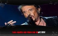 Johnny Hallyday - Regarde-moi t'aimer (karaoké réalisé par Softchess)