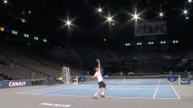 The BNP Paribas Masters in the eye of the players - The center court