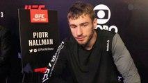 Poland's Piotr Hallmann inspired by success of UFC champ Joanna Jedrzejczyk