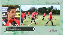 Diego Souza se diz tranquilo e não pensa onde vai jogar em 2016