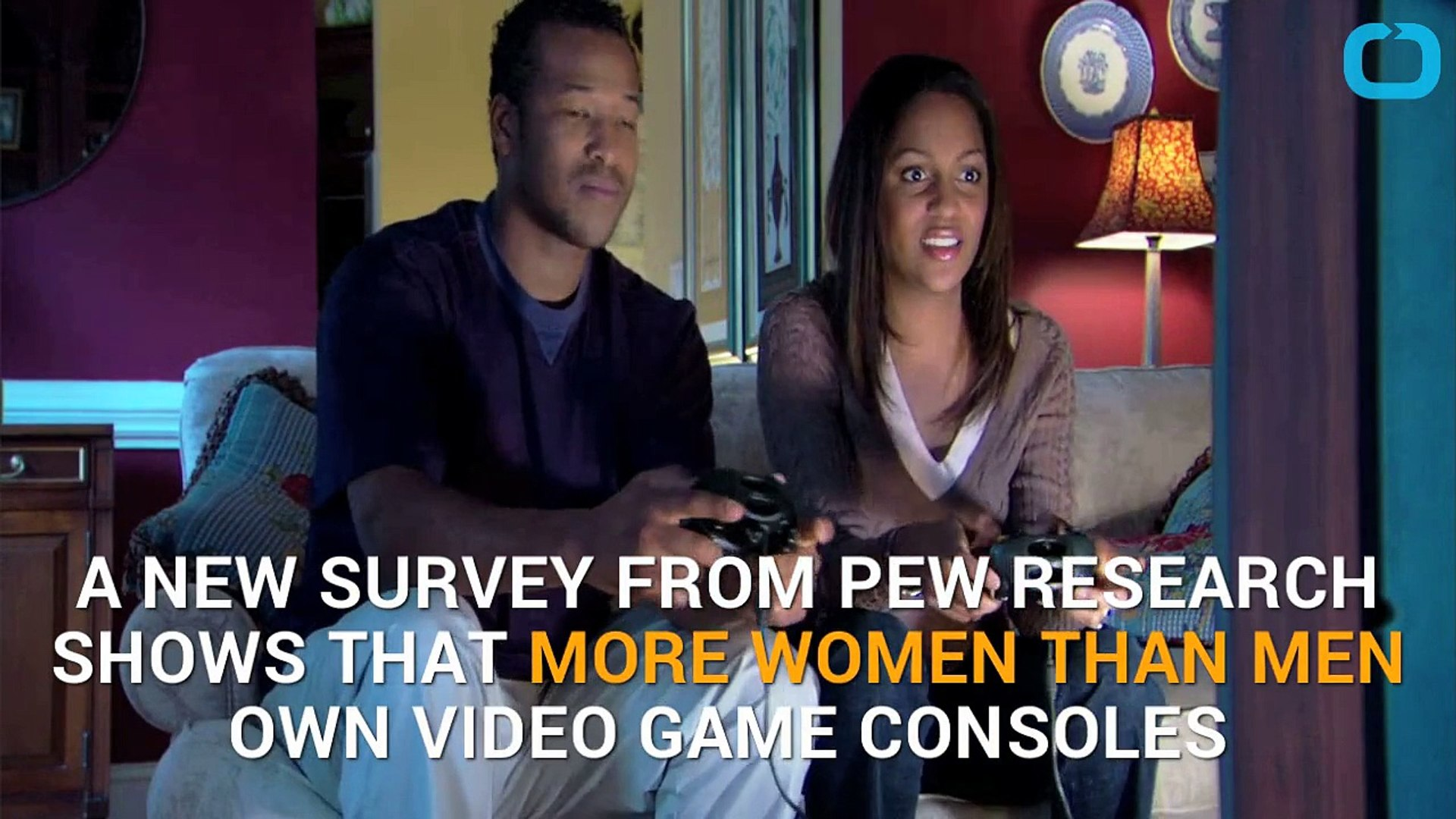 Poll Says More Women Than Men Own Game Consoles