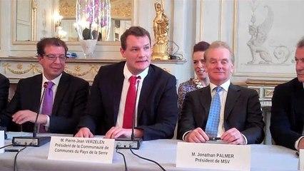 Jonathan Palmer a signé l'achat de Laon-Couvron