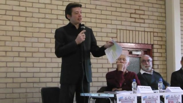 Public Meeting CJAG: Speaker: Cyril Richert (introduction) - Part 1/13