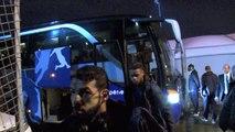 Laval - HAC : l'arrivée des joueurs Havrais au stade