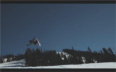 Perfect Alaskan Ski Action