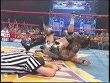 Booker T vs Jeff Jarrett - Bash at the Beach 2000 (German)