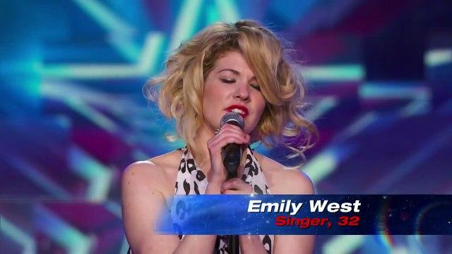 Emily West You Got It Americas Got Talent July 22, 2014