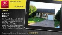 A vendre - Pavillon - Saint Vaast En Cambresis (59188) - 6 pièces - 100m²