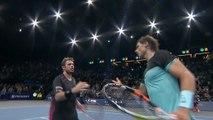 Daily Highlights 2015 11 06: Murray, Ferrer, Djokovic and Wawrinka into semi finals