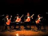 aranjuez guitar quartet simpsons theme