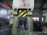 How to forge spheric hinge by 25kj cnc forging hammer,drop forging hammer,down stroking hammer,forming machine