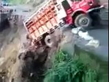TRUCK fall off the cliff,,,,See this