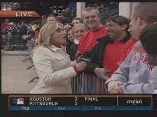 Fan drops an F-bomb on Orioles pregame