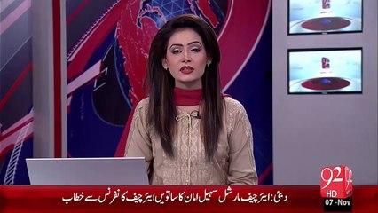 Breaking News – Karachi ATC Ny MQM Ky 4 Target Killer 90 Roz Ky Lye Rangers Ky hawaly Kr Diye – 07 Nov 15 - 92 News HD