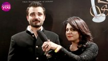 Lux Style Awards 2015 Backstage with Hamza Ali Abbasi