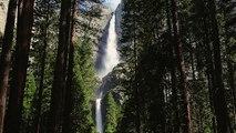 Yosemite Falls   Beautiful waterfall in California, Yosemite National Park