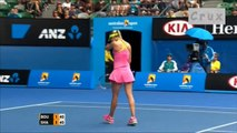 Australian Open 2015 Quarter Final Highlight Maria Sharapova vs Eugenie Bouchard
