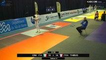 CdM fleuret dames St-Maur 2015 - Tableau de 16 > 1/4 finale piste rouge (7/11/2015)