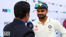IND vs SA 1st Test Virat Kohli Reacts on thrashing SA