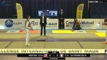 CdM fleuret dames St-Maur 2015 - 1/2 finale Di Francesca (ITA) vs Kiefer (USA)