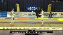 CdM fleuret dames St-Maur 2015 - finale Errigo (ITA) vs Di Francesca (ITA)