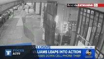 Course-poursuite entre Serena Williams et le voleur de son téléphone portable