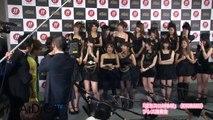 バッドボーイズら乱入!! AKB「チームサプライズ」選抜メンバー総出演囲み会見2 #Yuko Oshima #Japanese Idol