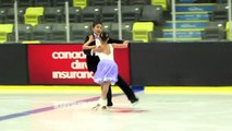 Carrera Shek/Liam Lewis - Juv Pattern Dance - 2016 Skate Canada BC/YK Sectional Championships