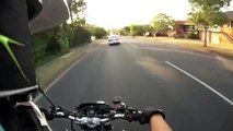 Motorcycle Accident Surprise | Pump Your Brakes