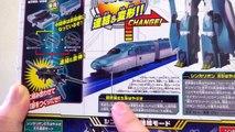 【プラレール】新幹線変形ロボ シンカリオン E5はやぶさ& E6こまち ヲタファの変形合体レビュー TAKARATOMY Shinkalion E5 Hayabusa E6 Kom